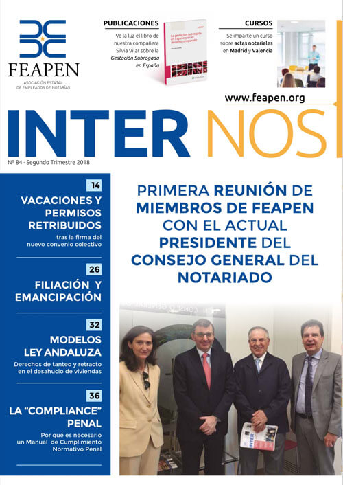 Revista Inter Nos número 84