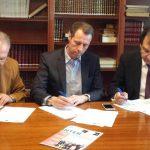 UIPAN y FEAPEN firman un convenio con la Fundación Fomento Hispania.