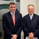 Reunión de miembros de FEAPEN con el presidente del Consejo General del Notariado