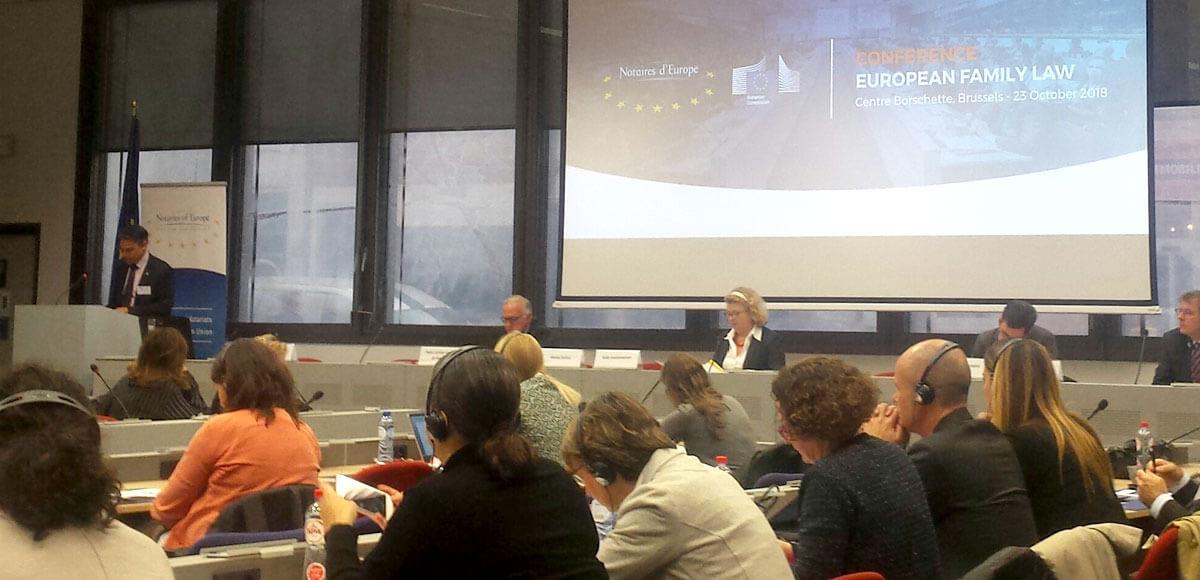 Conferencia derecho de familia Bruselas